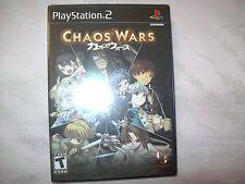 Chaos Wars versione americana ntsc usa nuovo sigillato ps2 new