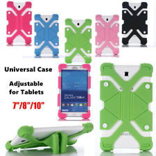 Universal Soft Silicone Tablet Stand Case Cover For Samsung Galaxy 7''/8''/10''