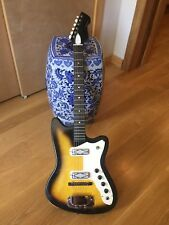 Vintage Harmony-made Silvertone Bobkat 1964 Electric Guitar