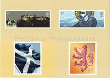 GB POSTCARDS PHQ CARDS USED REAR FDI 2006 CGB1 CELEBRATING SCOTLAND