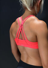Womens Lorna Jane Activewear Sunrise Sports Bra Cupid Red XS