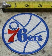 "PHILADELPHIA SIXERS 76ERS  NBA 3.25"" IRON/SEW ON VINTAGE PATCH~FREE SHIPPING~"