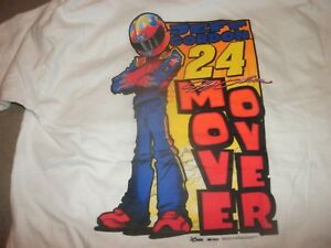 Retro Jeff Gordon #24 DuPont Motorsports Youth size XS 2-sided T-shirt (B135)
