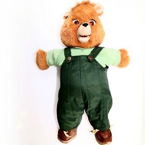Teddy Ruxpin 1985 Vintage Stuffed Animal Bear Toys Worlds Of Wonder Parts Repair