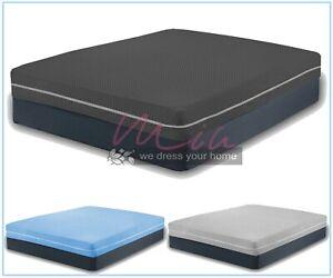 DIAMOND Mattress Protector Cover Total Encasement Anti BED Bug Full Zipped