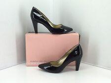Bandolino Kami Black Synthetic Patent Heels. Size 7 M