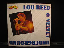 THE VELVET UNDERGROUND AND LOU REED WITH INSERT ITALIAN IMPORT SUPERSTAR RECORD