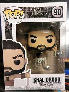 Funko PoP! Game of Thrones Ann. #90 Khal Drogo Vinyl Figure. Nice New Box. 2021