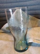 mc donalds 1948 collectible retro green tinted drinking glass 16 oz. Advertise