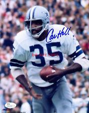Calvin Hill Signed 8X10 Photo Autographed Dallas Cowboys reprint