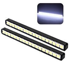 2x Waterproof 18LED Car DRL Daytime Running Lights Auto Daylight LED Light Lamp~