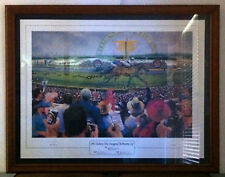 2001 Tooheys New Inaugural Melbourne Cup Large Framed Print 94cm x 74cm