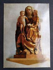 Alte Ansichtskarte Anna Skulptur aus St. Maria Volkach