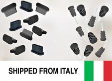 10x Anti-Dust Plug Stopper Set USB Type-C & Jack+Pin 3.5mm Silicone Universal