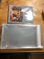 100 Nintendo, NES Manual And Insert Bags Protectors Sleeves Great Fit