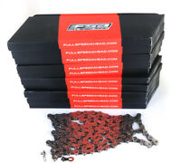 Lot 10 FSA CN-906 9 Speed Road MTB Bike Chains 116L + ML Retailer Pack NEW