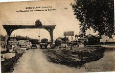 CORGOLOIN - Le chantier de la Gare et la Scierie