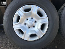 SINGLE FORD RANGER LIMITED ALLOY ALLOYS WHEEL WHEELS TYRES 265 65 17 GOODYEAR