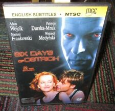 SIX DAYS OF OSTRICH (6 DNI STRUSIA) DVD MOVIE, ADAM WOJCIK, POLISH / ENGLISH SUB