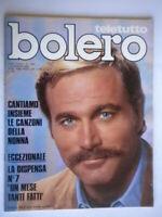 Bolero1440 Franco nero Al Bano Romina Paul North Medici Sbragia Giovanna Corot
