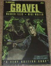 Gravel #18 and #19 Regular Cover [Avatar Press] NM-