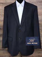 Brooks Brothers 346 Men's 100% Wool Blue 2 BTN Sport Coat Blazer Jacket 45R