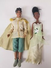 New ListingDisney Tiana And Prince Naveen Barbie Dolls with clothes princess frog