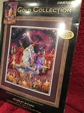 """""""Scarlet Wizard"""" Counted cross stitch kit from gold collection dimensions"""