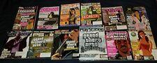 Rockstar Games Grand Theft Auto Magazine Lot Rare Promo PlayStation Magazine