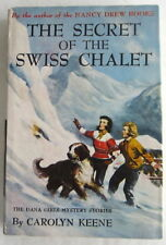 Dana Girls #20 Secret of the Swiss Chalet Nancy Drew Author Carolyn Keene DJ
