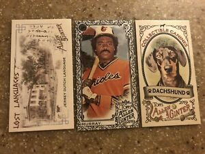 You pick 18 2019 Allen Ginter Mini Gold Black A & G Zoo Lost Canine SP Choose 18