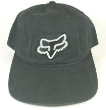 Fox Racing CARRY OVER Strapback Hat OSFA Black Grey ($22) NEW Moto Relaxed CAP