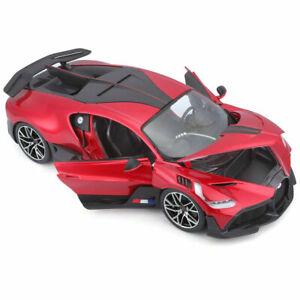 Maisto Bugatti Divo 1:18 Scale Special Edition Die cast Model Car  New