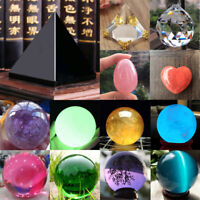 30MM Rare Natural Quartz Crystal Gemstone Sphere Reiki Healing Ball Stone Lot