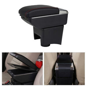 Center Console Armrest Storage Box fit for Volkswagen VW Polo Mk5 Vento 2010-17