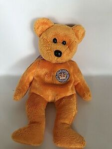TY 2002 Celebrations The Queen's Golden Jubilee Beanie Baby Teddy Bear Plush Toy