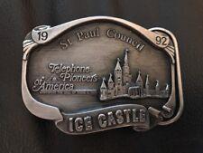 1992 Siskiyou Buckle Co. St. Paul Council Ice Castle Belt Buckle 243/250