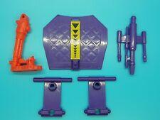 Vintage Playmates - TMNT - Ninja Turtles - Technodrome Parts Lot