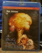 A Boy and His Dog (Blu-ray) Don Johnson * NEW *  Special Collector's Edition