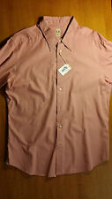 bellissima camicia LIBERTY ROSE uomo, rosa antico, 43, 100% cotone