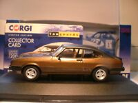 WOW NEW VANGUARDS 1/43 1980 FORD CAPRI MK3 3.0S RIGHT HAND DRIVE OUTSTANDING NLA