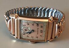 Vintage Bulova 1940's - Pink Gold Filled Wristwatch - with Original Bracelet