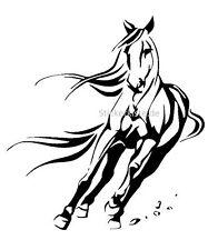 Pferde Galopp Galopping Horse Wandtattoo Wallart Wallpaper Aufkleber Wandbild
