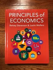 Principles of Economics by Betsey Stevenson & Justin Wolfers Like New.