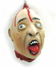 Severed Human Head Spiked Bloody Lifesize Halloween Party Decoration Prop