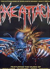AXE ATTACK cutting edge of england's newest heavy metal HOLLAND  1986 EX LP