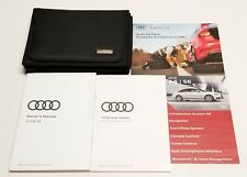 2018 AUDI A6 OWNERS MANUAL V6 3.0T V4 2.0T SPORT PREMIUM AWD SEDAN LUXURY VEHICL