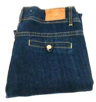 Vigoss Collection Women's Fit/Bootcut Blue Denim Jeans, Sz 13/14 32 Actual 32X32