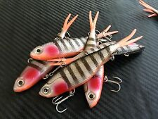 4x Redfin Mullet Transam Lures Soft Vibe Fishing Jacks Thready Lures Barra Jew