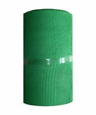 Green Plastic Mesh 7mm x 7mm Fencing Garden Animals Fence Flowerbeds Border Net